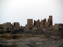 Old deserted city of Marib