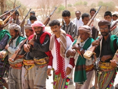 Traditional Yemen Wedding, Wadi Douan