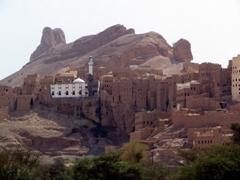 View of Al-Hajarain, Wadi Douan