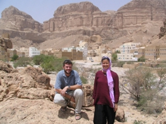Robby and Becky, Wadi Douan