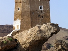 Husn al-Ghuwayzi, the unofficial symbol of Mukalla