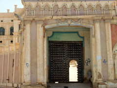 Entrance to a mosque, Tarim