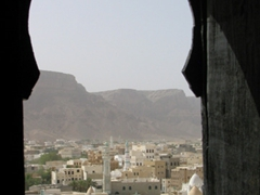 View from the Sultan Al-Kathiri's Palace, Seyun