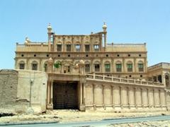 One of Tarim's 23 mud-brick mansions
