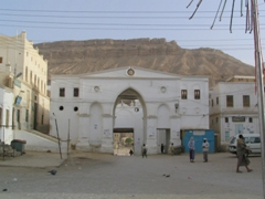 Entrance to Old Shibam