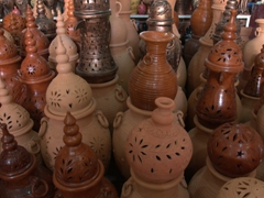 Beautiful pottery for sale; Masafi Friday Market