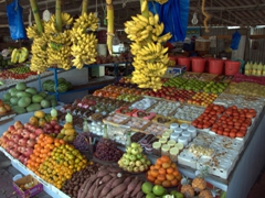 Fruits and vegetables for sale; Masafi market