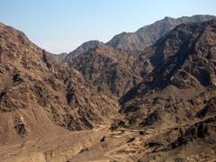 Canyon vista near Masafi