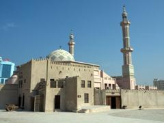 Courtyard view of Ajman Museum