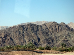 The rugged Hajar Mountains separate Fujairah from the rest of the country
