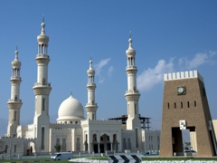 View of Dibba Mosque
