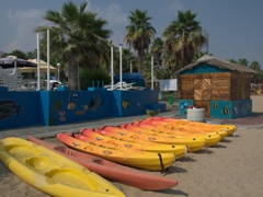 Lots of water sport activities available at Sandy Beach Hotel; Fujairah