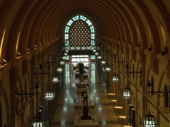 Originally built as a traditional souq but converted later into a museum, the Sharjah Museum of Islamic Civilization is not to be missed, especially for its mosaic constellations on the dome's ceiling