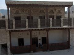 Inner courtyard view of Bait Al Naboodah; Sharjah heritage area