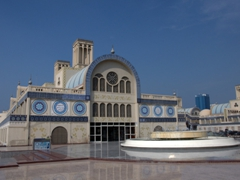 """The aptly named """"Blue Souq""""; Sharjah"""