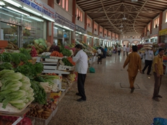 The fruit and vegetable souq (next to the Al Jubail bus station); Sharjah