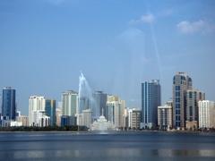 Sharjah's Al Majaz waterfront