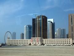 View of the Al Qasba complex; Sharjah