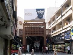 Entrance to the Gold Souk, Dubai