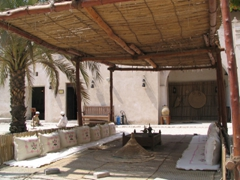 Covered courtyard, Heritage House