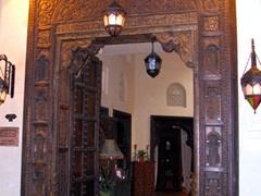 Entrance way to an antique shop, Madinat Jumeirah Souk