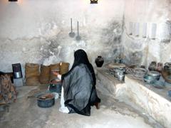 Kitchen area, Dubai Heritage House