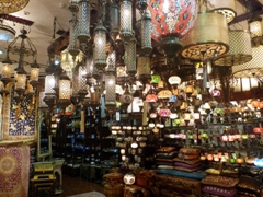 Lanterns for sale; Mall of Emirates