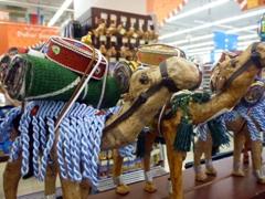 Fancy a camel souvenir? Pick one up at the Mall of Emirates