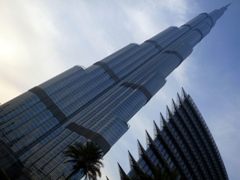 At 828 meters, the Burj Khalifa is the tallest building in the world