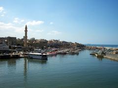 View of Sidon from Qasr al-Bahr