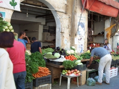 Vegetables for sale; Sidon