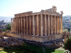 Quite possibly the best preserved Roman temple in the world, the Temple of Bacchus (dedicated to the Roman god of wine) is truly a highlight to any visit to Lebanon. Amazingly, we had this entire complex to ourselves!