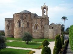 Picturesque Saint John Church, Byblos