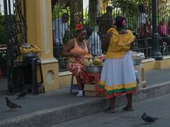 Early morning scene in Cartagena