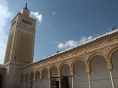 Minaret of Zaytouna Mosque