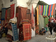 Its easy to get lost exploring the souqs of the medina