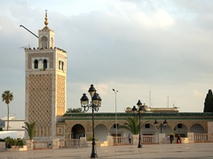 Kasbah Mosque, built by the Almohads in 1230
