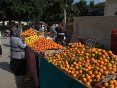 Fresh fruits for sale; Halfaouine