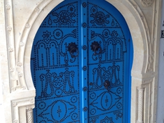 Tunisia is famous for its traditional doors. The medina has hundreds of them to admire