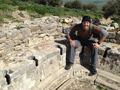 Robby at the Baths of the Cyclopes
