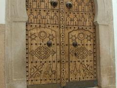 Wooden Palace door