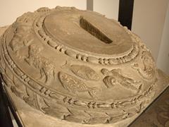 Detail of a zodiac pedestal