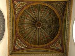 Painted dome ceiling