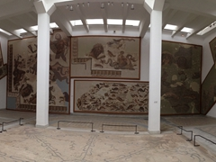 The Bardo Museum is quite massive. Expect to spend at least a few hours here admiring all the displays