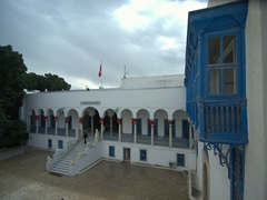Bardo museum entrance