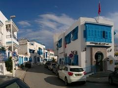 Panoramic view of Sidi Bou Said