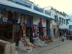 Parting view of the souvenir shops