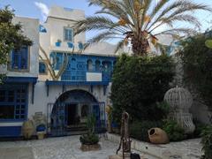 Quaint courtyard of Dar el-Annabi
