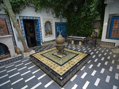 Pretty courtyard view of Dar el-Annabi
