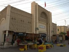 Central market in old Tozeur